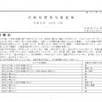 詳細PDF 詳細は、画像をクリックしてください。PDFが開きます。 概要 第41巻28号 宮崎県農業気象速報 令和元年10月上旬 宮崎地方気象台 令和元年10月16日 気象概況 気圧の谷や湿った空気の影響で曇りや雨の日も […]