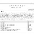 詳細PDF 詳細は、画像をクリックしてください。PDFが開きます。 概要 第41巻29号 宮崎県農業気象速報 令和元年10月中旬 宮崎地方気象台 令和元年10月21日 気象概況 期間を通して、高気圧に覆われて晴れた日が多 […]