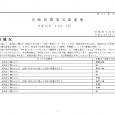 詳細PDF 詳細は、画像をクリックしてください。PDFが開きます。 概要 第41巻31号 宮崎県農業気象速報 令和元年11月上旬 宮崎地方気象台 令和元年11月12日 気象概況 期間を通して、高気圧に覆われて晴れた日が多 […]